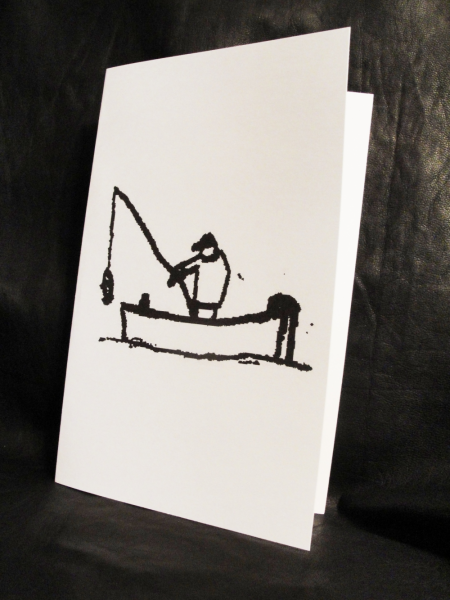 Fishing all occassion Greeting Card
