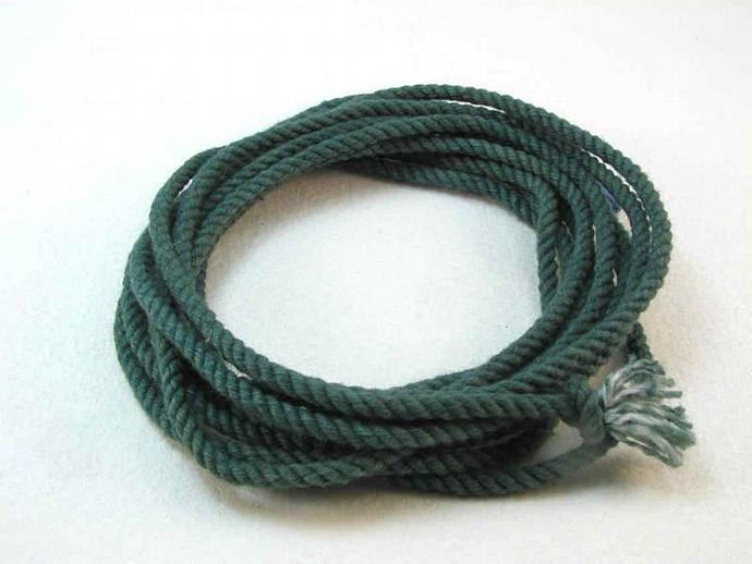 hand dyed cotton cord rope bracelet kits DIY kits bracelet materials supplies
