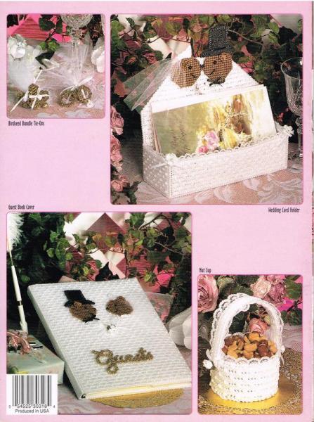 Wedding Bears Plastic Canvas Pattern Book