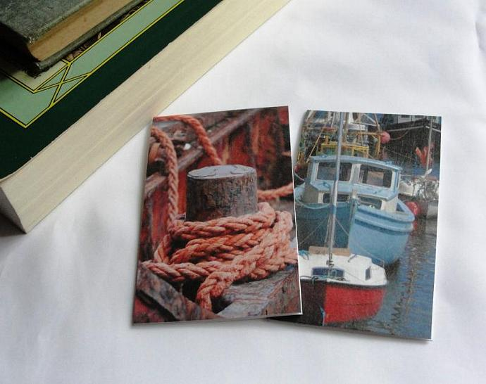 Nautical Set of Magnetic Bookmarks