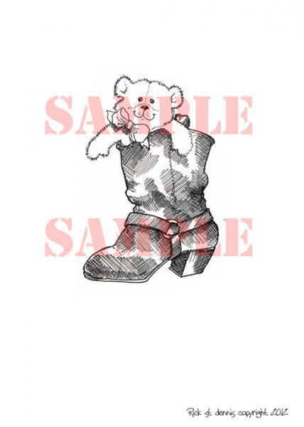 Boot Bear digi stamp