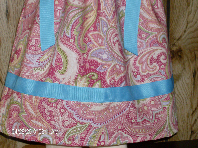Paisley Fun Boutique Pillowcase Dress