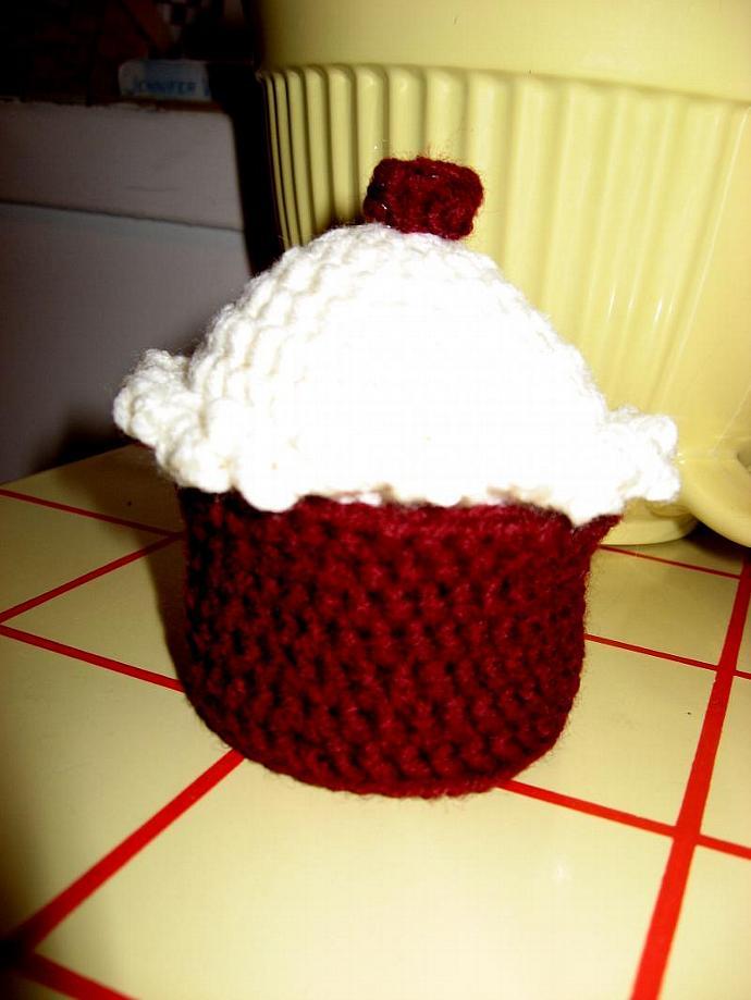 Red Velvet Cupcake Gift Box