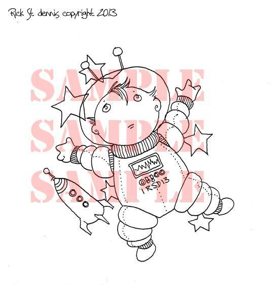 Euro Boy Cosmo Digi Stamp