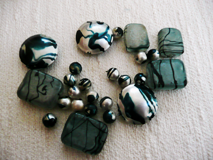 Vintage 1960's Beads