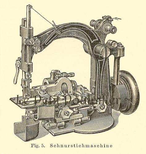 Sewing Machines 1885 Antique Joseph Meyer German Engravings