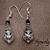 Elegance in black Earrings 10045