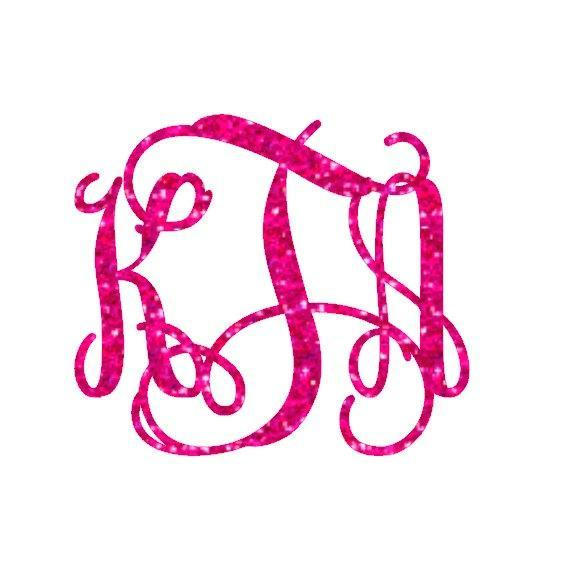 glitter monogram iron on monogram iron on transfer iron on letters glitter