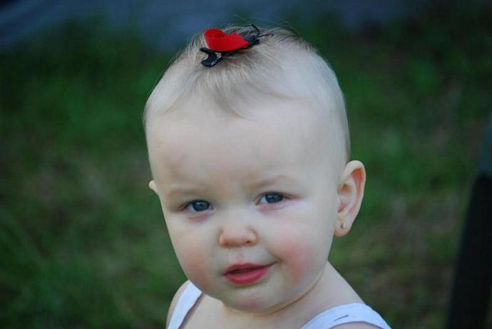 Lovely Lady Bug Hair Clip