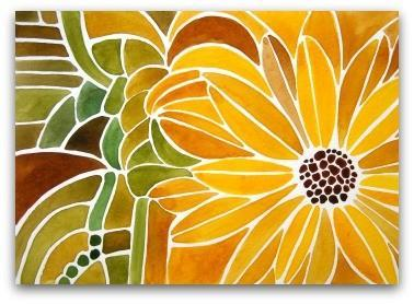Sunflower - ACEO Print