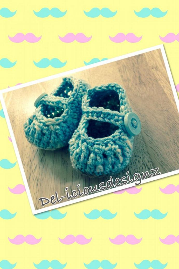 Newborn Baby Booties Shoes -