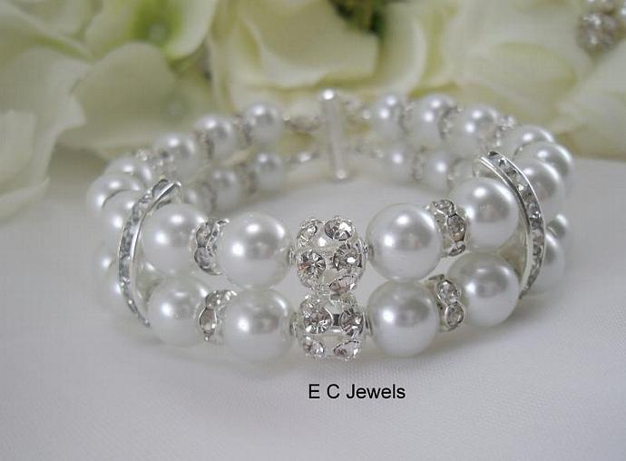 Elegance, Rhinestone and Pearls