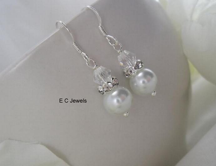 Crystal Simplicity Earrings