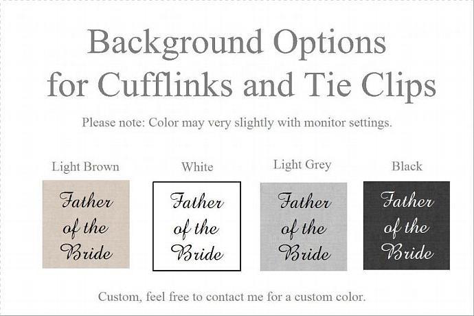 Custom Text Tie Clip/Bar