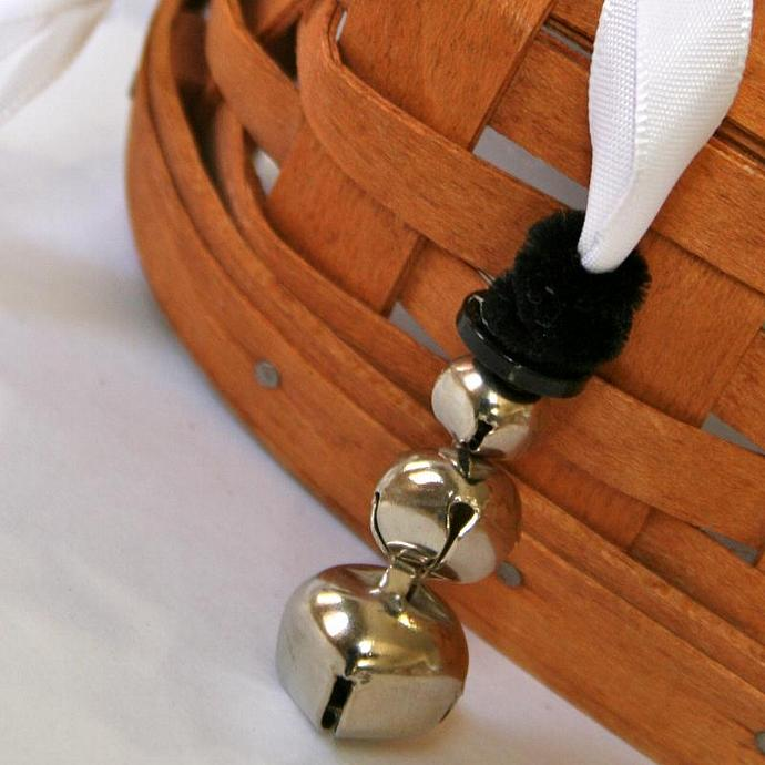 Snowman Bell Necklace