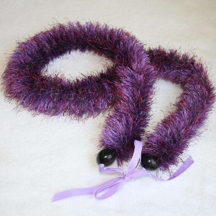 Purple Sparkle Hawaiian Lei