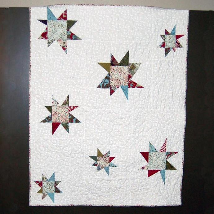 First Snow Art Quilt