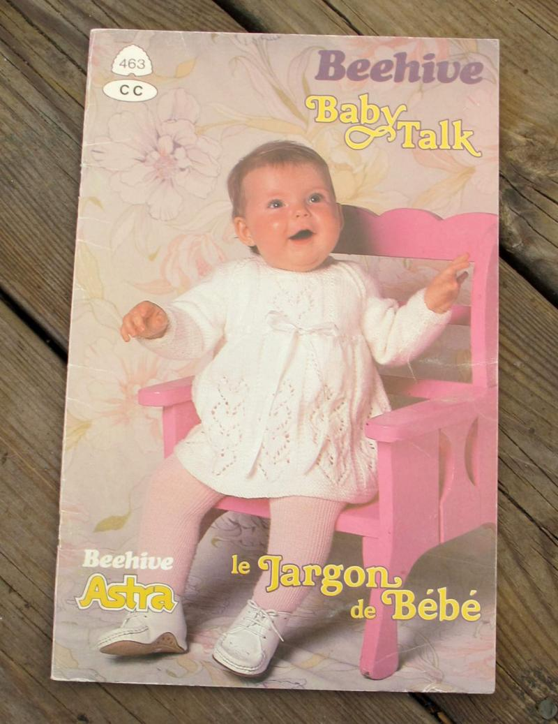 Patons Knitting Patterns Baby Blankets : Patons Baby Talk knitting patterns SandrasCardandCraftShop