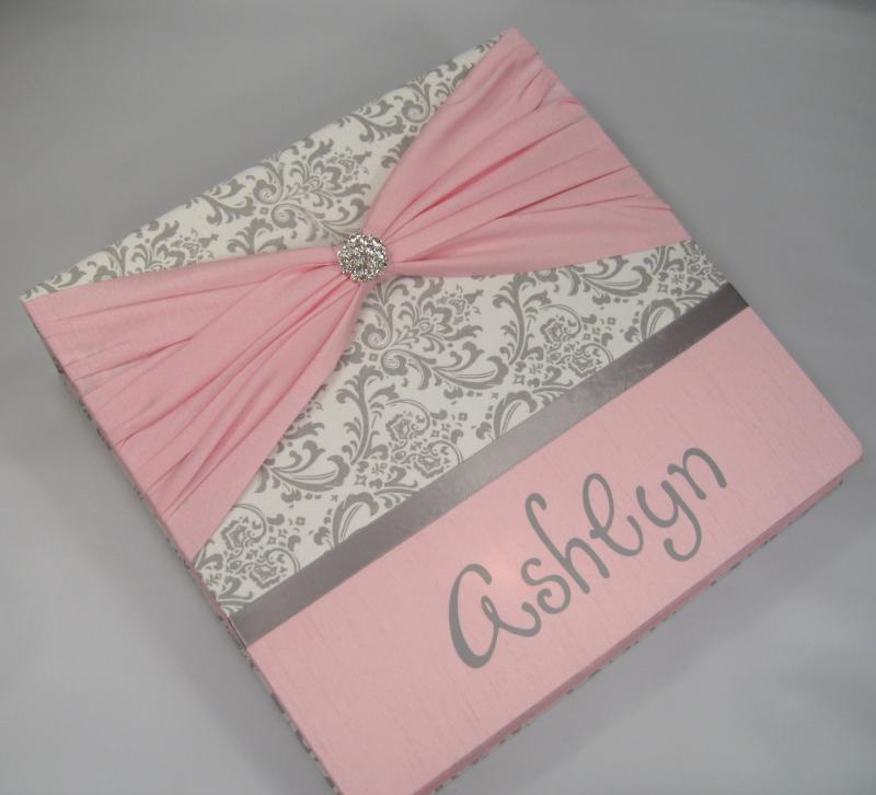 Baby Memory Book //Personalized // Baby Girl//   JaDazzles