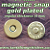 15 Gold Plated 14mm Magnetic Snap Closures