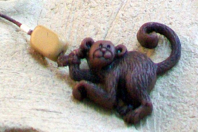 The Greatest Monkey Book Thong
