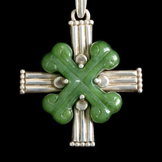 Jade Bones Cross