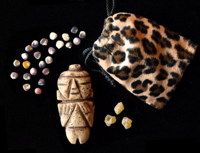 Maize Seeds & Stone Goddess