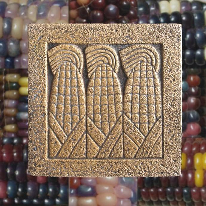 Corn / Aztec Maize design trivet