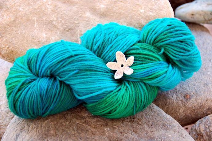 handdyed Yarn, 100g/ 3,5oz , colour 43