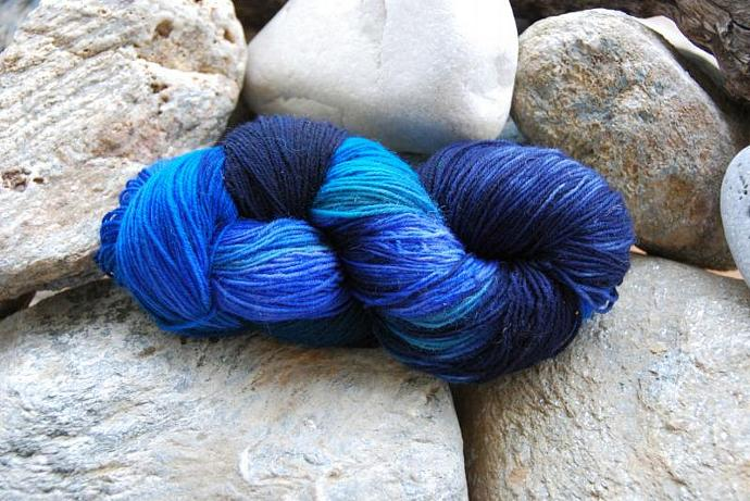 handdyed Yarn, 100g/ 3,5oz , colour 38