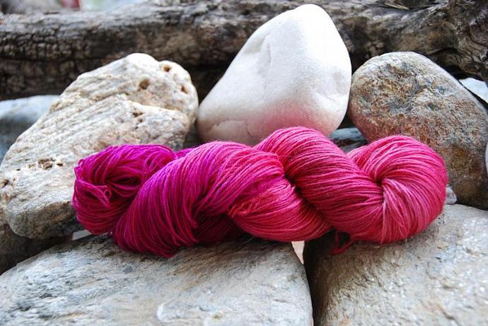 handdyed Yarn, 100g/ 3,5oz , colour 64