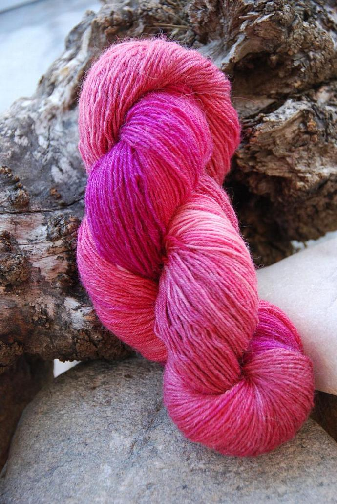 handdyed yarn -  100g/3,5 oz. -  Colour 64