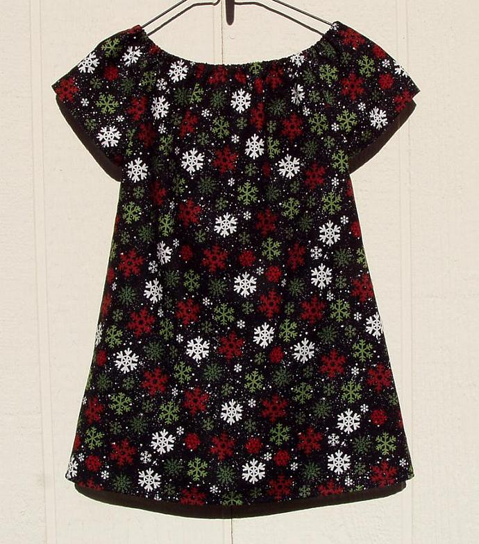 Christmas Tree with Lace Dress Size 3 Toddler