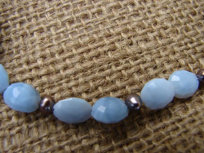 Natural  Boulder Opal Handmade Necklace