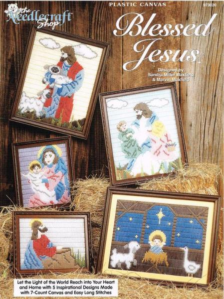 Blessed Jesus Plastic Canvas Pattern Book