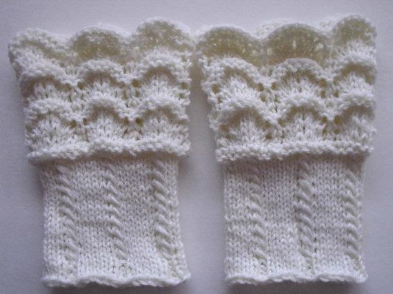 Hand knit Boot toppers,Boot cuffs, Leg MarikaTorontoKnits