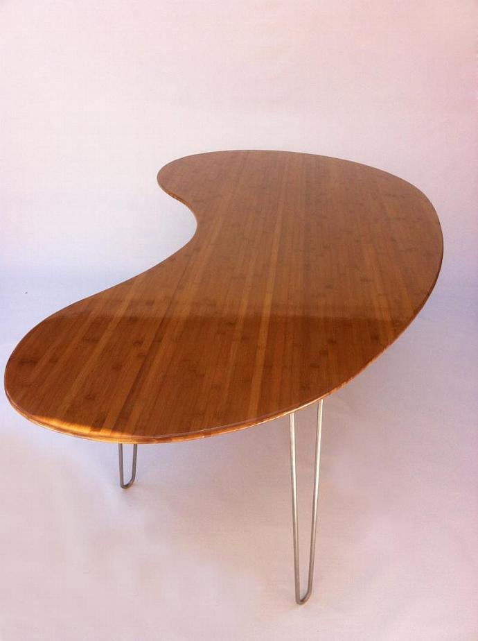 Mid Century Modern Kidney Bean Amoeba Dining Studio1212