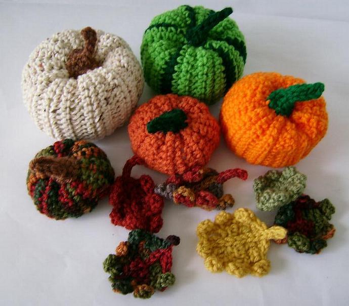 Small Cornucopia Pumpkin for Fall Decor - You Pick Color