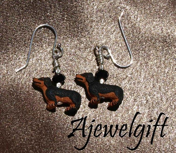 Dachsuhund Earrings 10047
