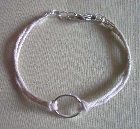 Good Karma Bracelet - Natural Hemp