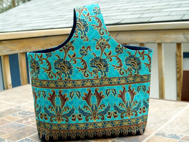 Indian Inspired Handmade Tote Handbag
