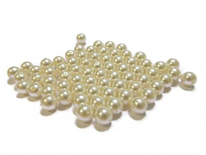 85 8mm Faux Pearls