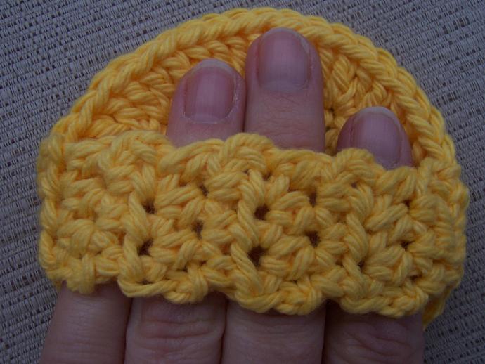 Sunshine Yellow Scrubbies