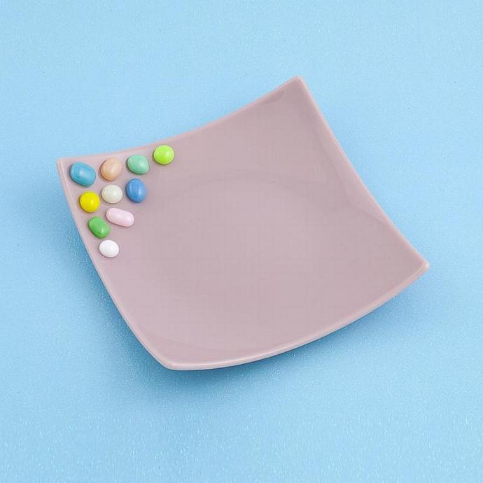 Fused Glass Candy Dish - Plate