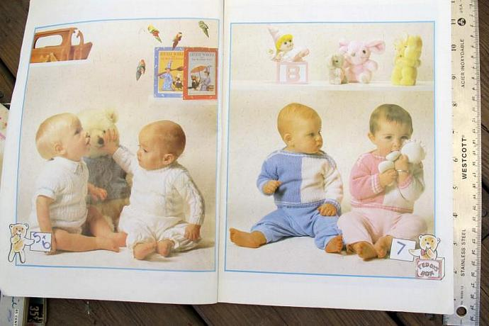 Beehive Patons Baby Book 275 / Baby knitting patterns / Patons 275 / 18 patterns