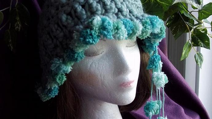 Hat (The Seashell Flapper Cap)