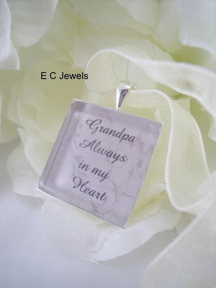 Custom Memorial Keepsake Bouquet Charm