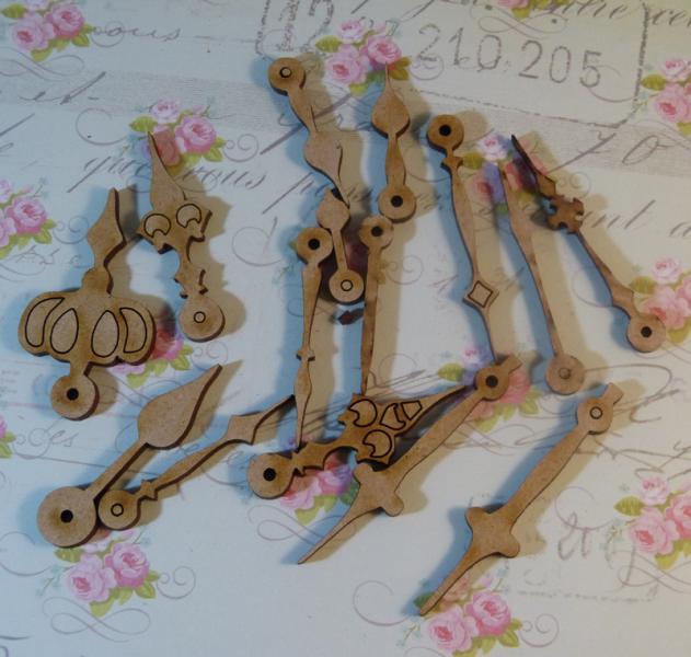 Wood hand clocks