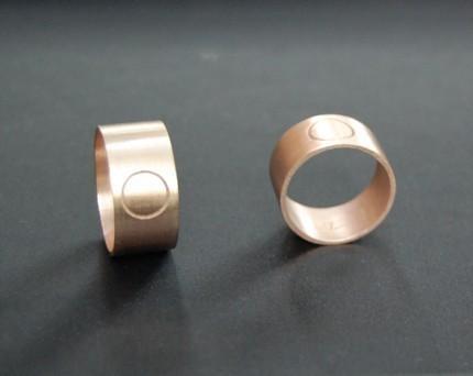 10K Rose Gold Eternity Ring