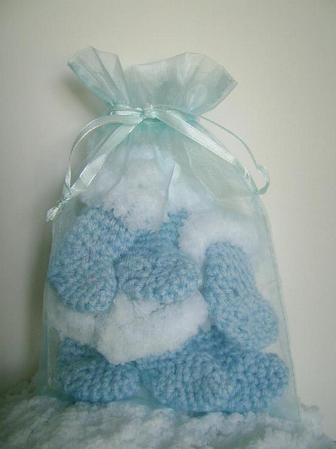 Christmas Stocking Ornaments, for Tree or Package Decorations